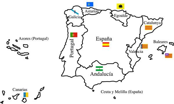 Resultado de imagen de Confederación Ibérica