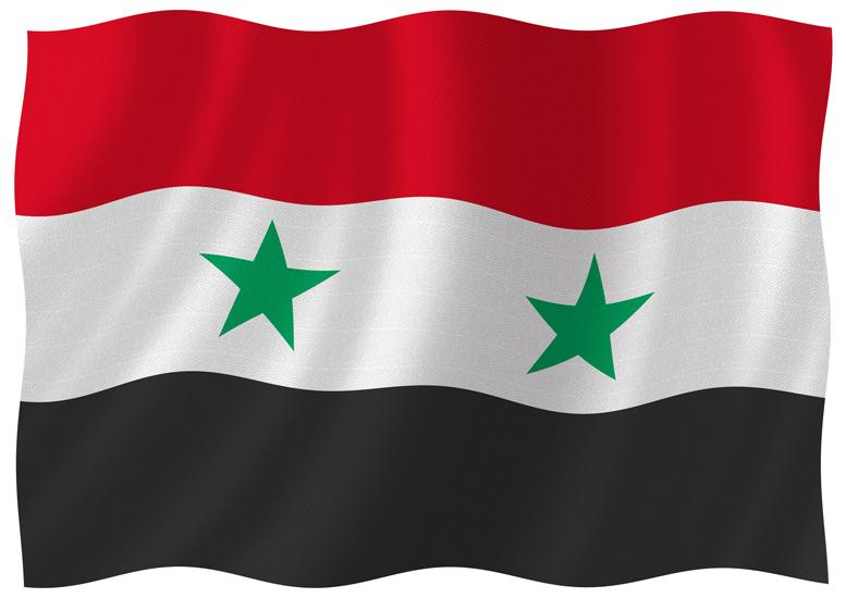 Resultado de imagem para babdeira da síria