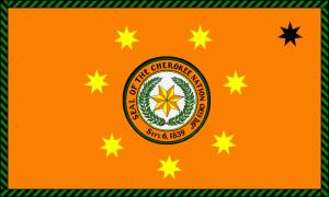 800px-Cherokeenationalflag