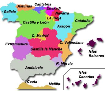 Dialectos De España Mapa.Cuantas Lenguas Se Hablan En Espana Josue Ferrer