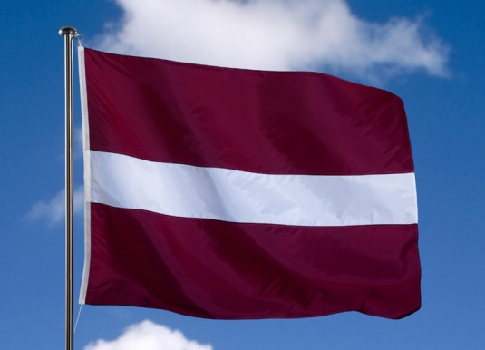 © CE/EC Flag of Latvia 6/12/2003