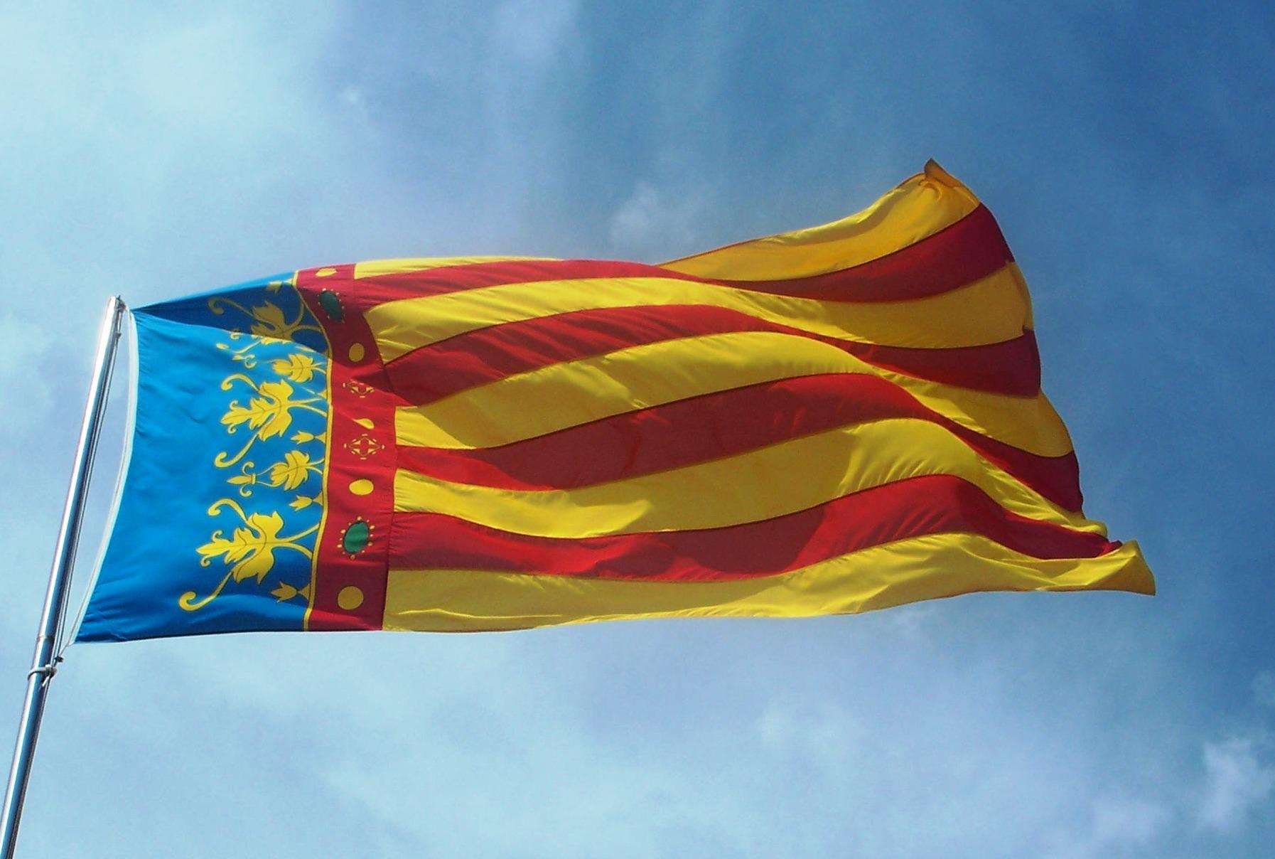 Resultado de imagen de bandera valenciana