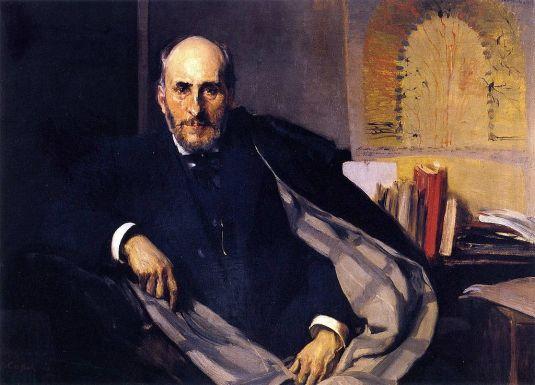 Joaquín_Sorolla._Santiago_Ramón_y_Cajal_1906